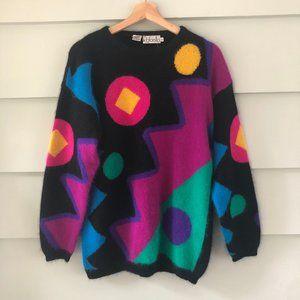 Vintage  RAFAELLA Angora Lambswool Sweater S